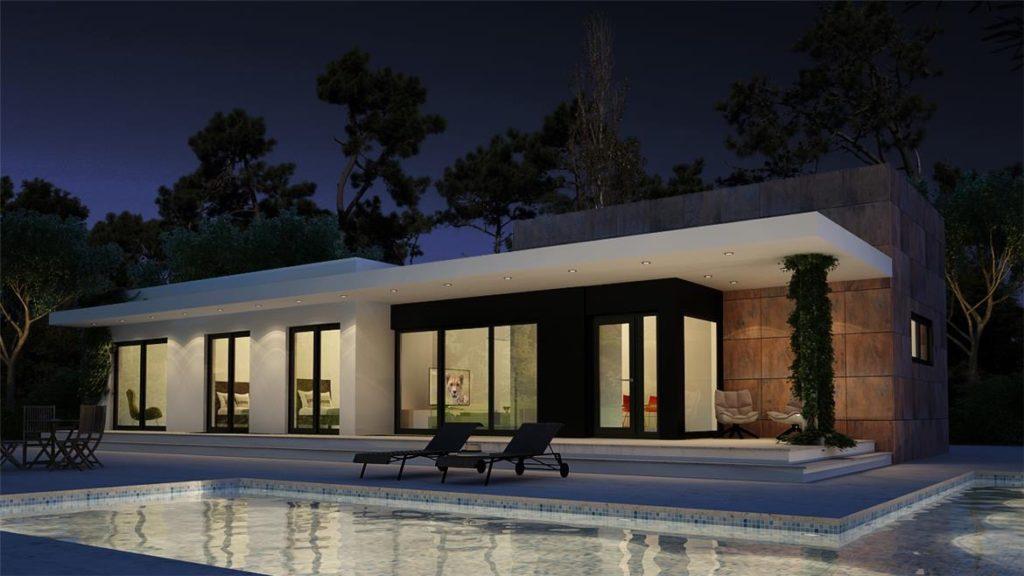 Case monopiano casa monopiano prospetto rcvl case with for Fumagalli case prefabbricate prezzi