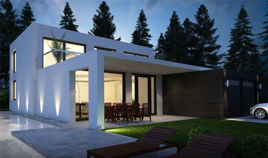 Progetti case moderne dd01 pineglen for Modelli case moderne