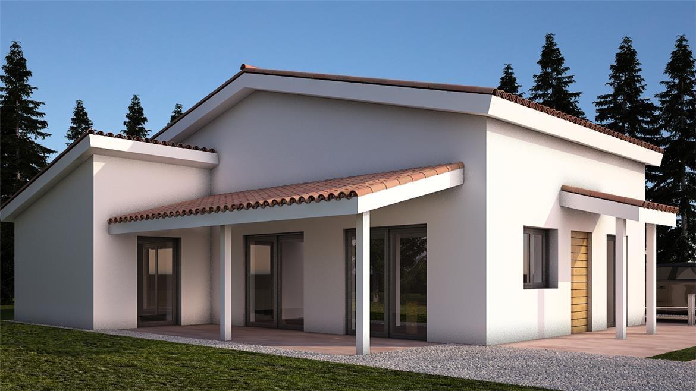 Casa prefabbricata in legno offerta tornatore case in legno for Casa prefabbricata 40 mq